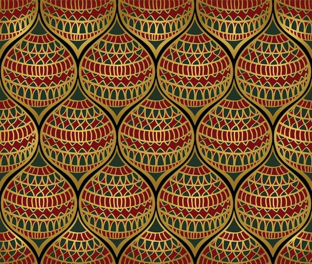 양식에 일치시키는 제등에서 추상적인 배경입니다. 크리스마스 완벽 한 패턴입니다.