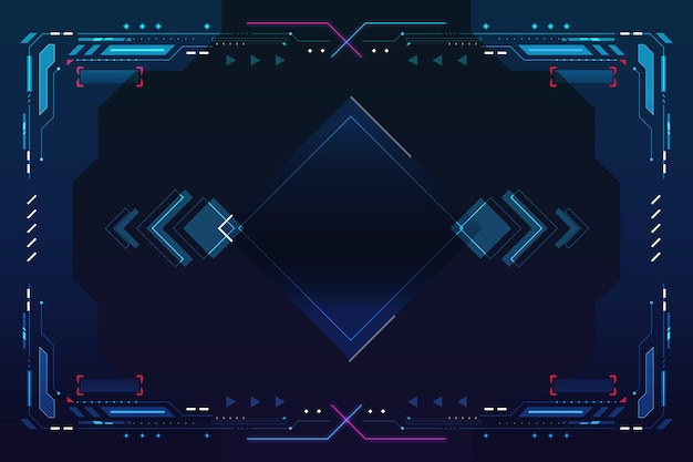 Abstract background futuristic style
