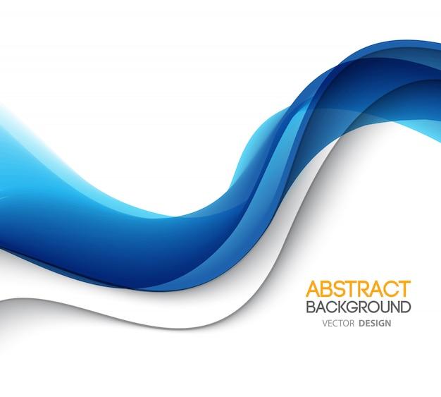抽象的な背景、波状の未来