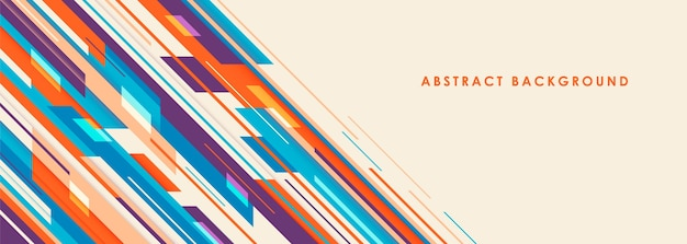 Abstract background in geometric style.