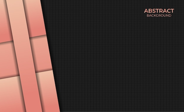 Abstract background gradient orange color design style