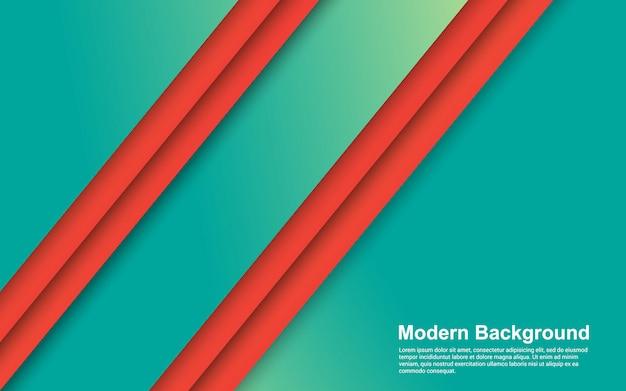 추상적 인 배경 그라디언트 색상 현대 프리미엄 벡터