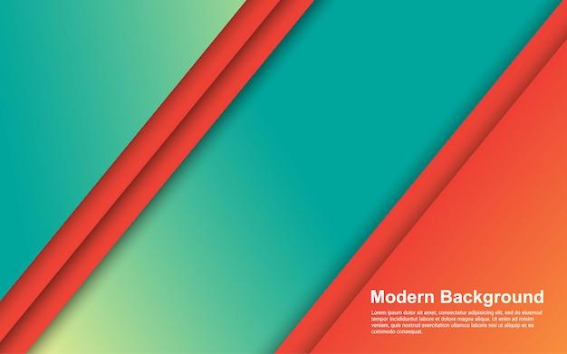 추상적 인 배경 그라디언트 색상 현대