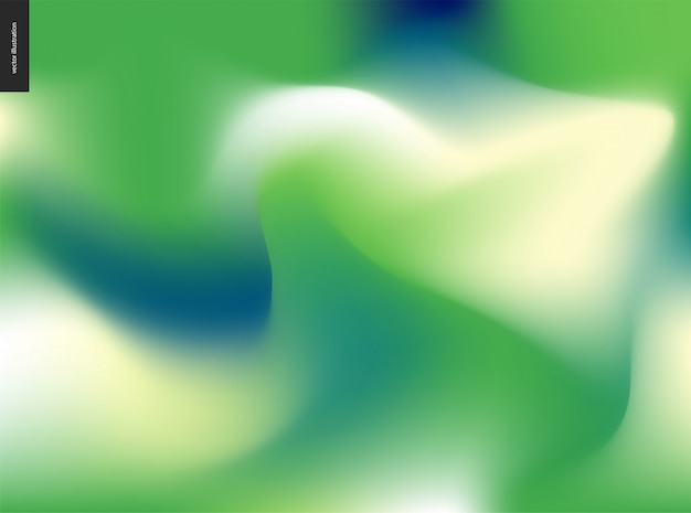 抽象的な背景の緑