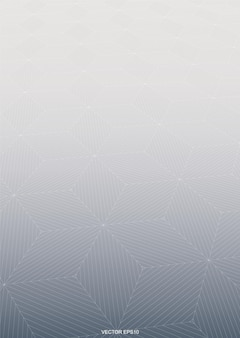 Abstract background of halftone geometric with wireframe pattern background. vector illustration.
