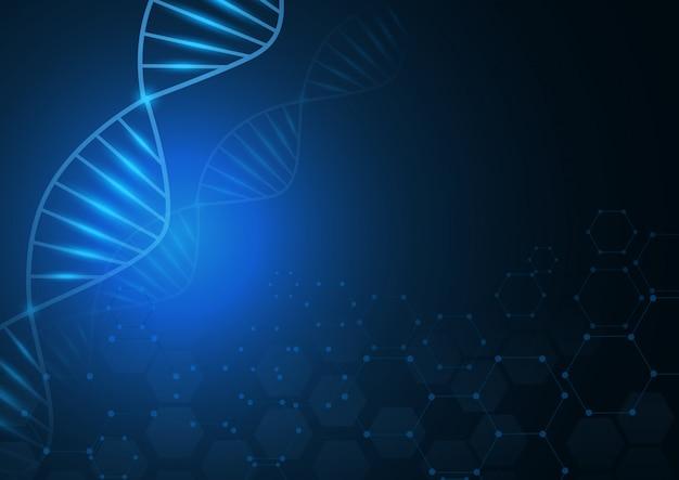 Абстрактный фон здравоохранения и науки значок шаблон медицинской концепции инноваций. Premium векторы