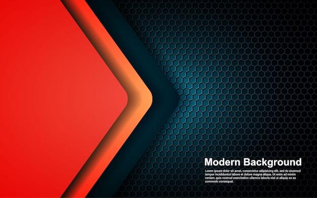 抽象的な背景のヒップスターグラデーションカラーのモダンなデザイン