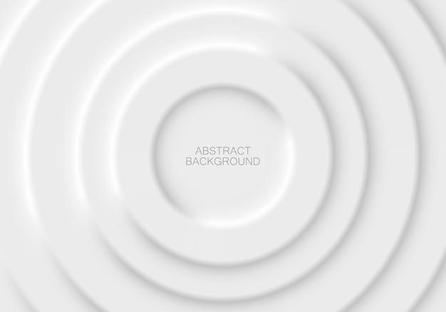 Абстрактная второстепенная иллюстрация в стиле белого неоморфизма. минимальные обои, фон.