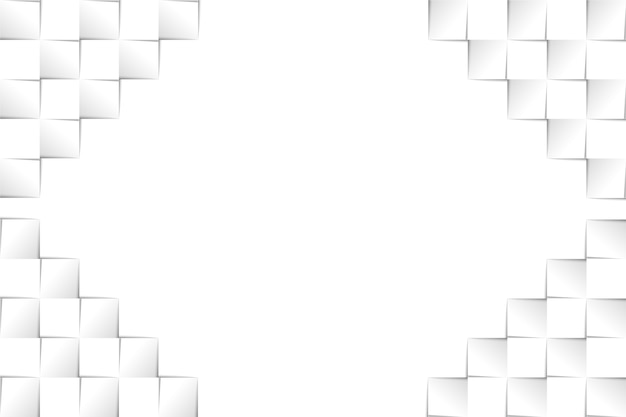 3 dペーパースタイルの抽象的な背景
