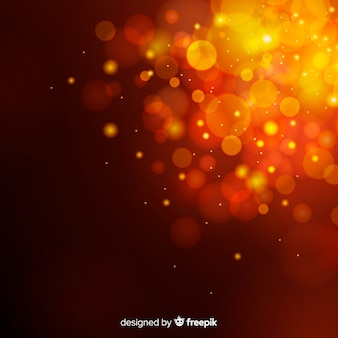 Abstract background in bokeh style