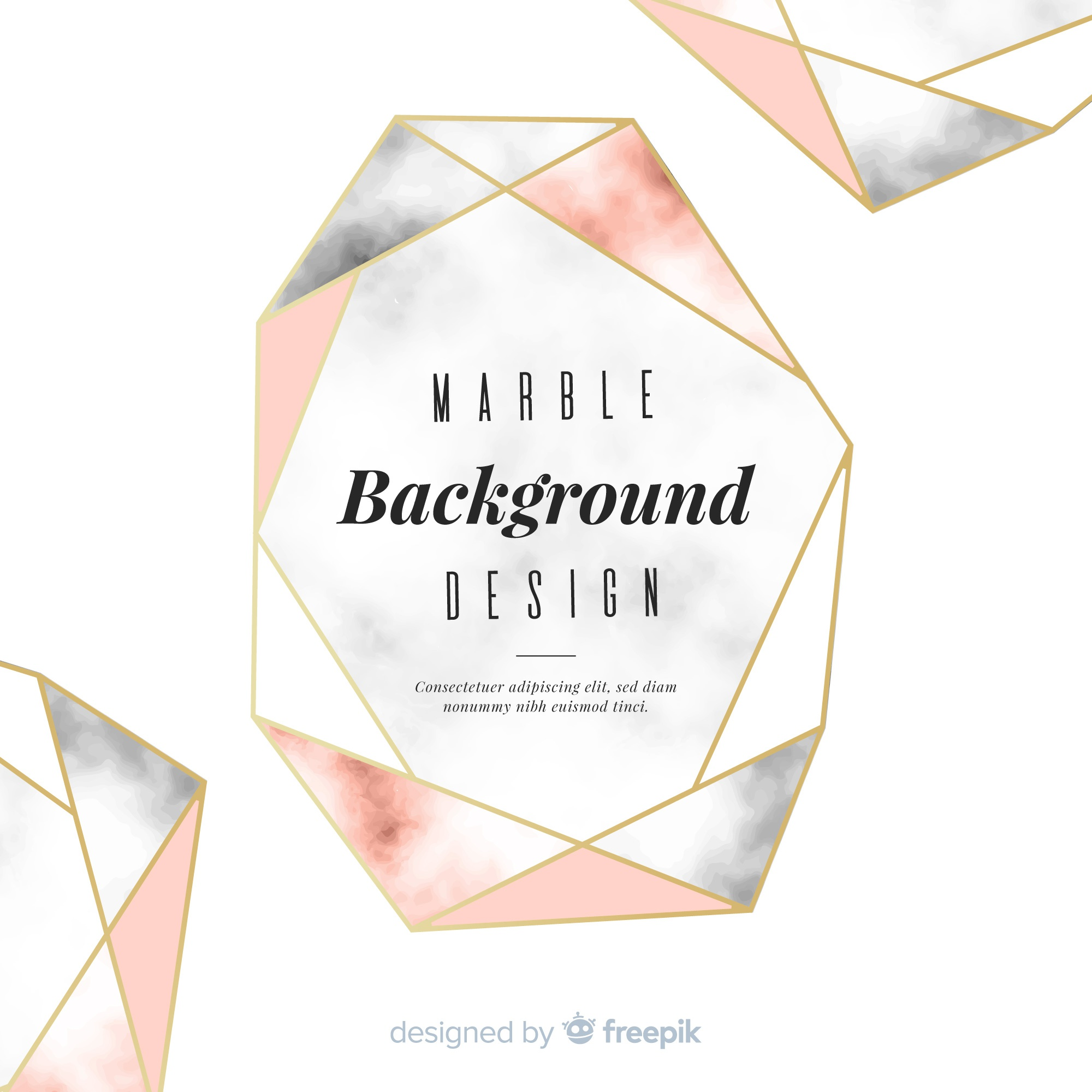 Abstract background in marble design