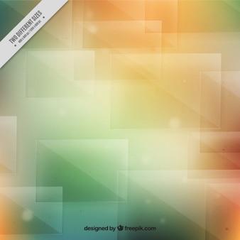 Абстрактный фон в оранжевых и зеленых тонах