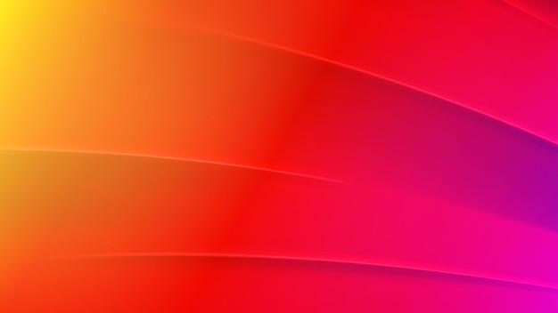 Абстрактный фон в красных, желтых и фиолетовых тонах
