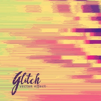 Abstract background in warm colors, glitch effect