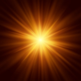 Abstract background of lighting flare. vector illustration