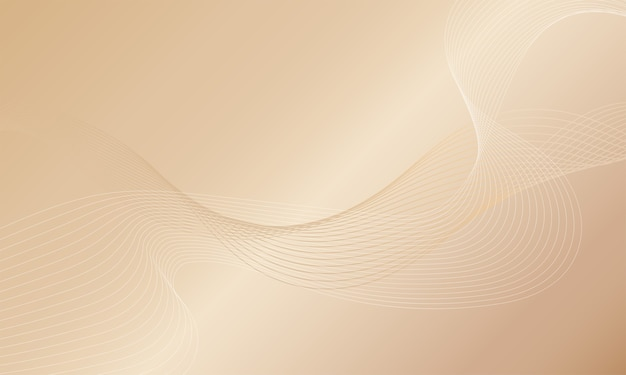 Abstract background. line wave. luxury style.