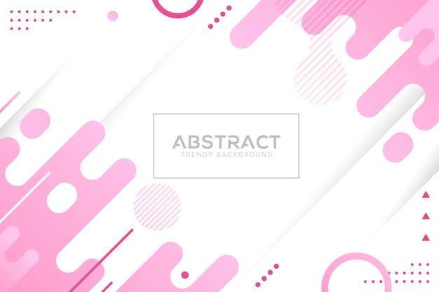 Абстрактный фон жидкий модный цветовой градиент
