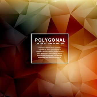 Abstract background in low poly style Free Vector