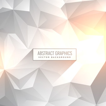 Abstract background low poly