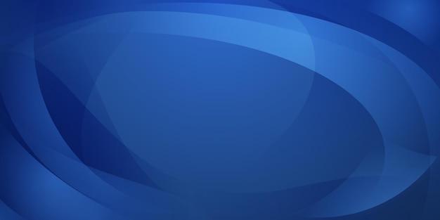 연한 파란색의 곡선으로 만들어진 추상적인 배경