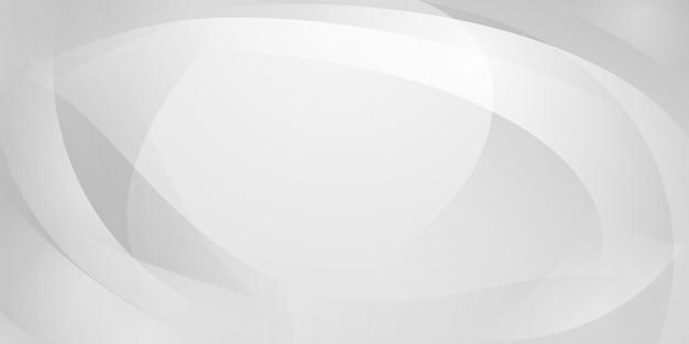 흰색 색상의 곡선으로 만들어진 추상적인 배경