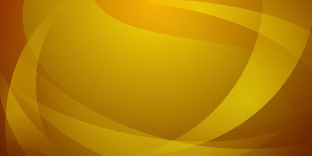 노란색 색상의 곡선으로 만들어진 추상적인 배경