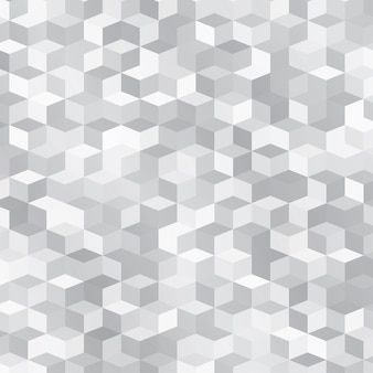 Abstract background made of small gray cubes