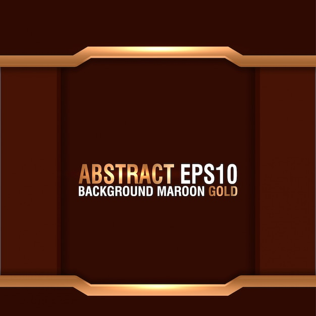 Abstract background maroon gold