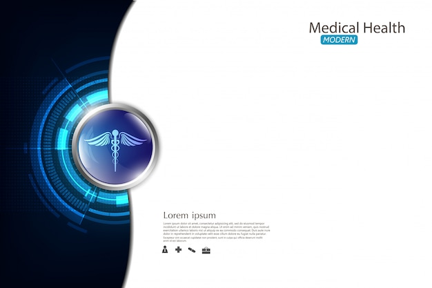 Abstract background medical health care
