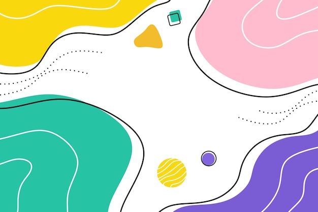 Абстрактный фон минималистский цвет