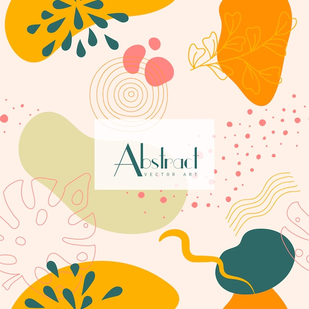 Абстрактный фон. шаблон современного дизайна в стиле минимализма. стильная обложка для бьюти-презентации, фирменный дизайн. векторная иллюстрация
