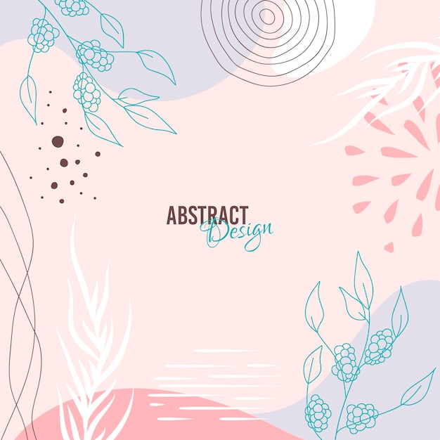 Абстрактный фон. шаблон современного дизайна в стиле минимализма.