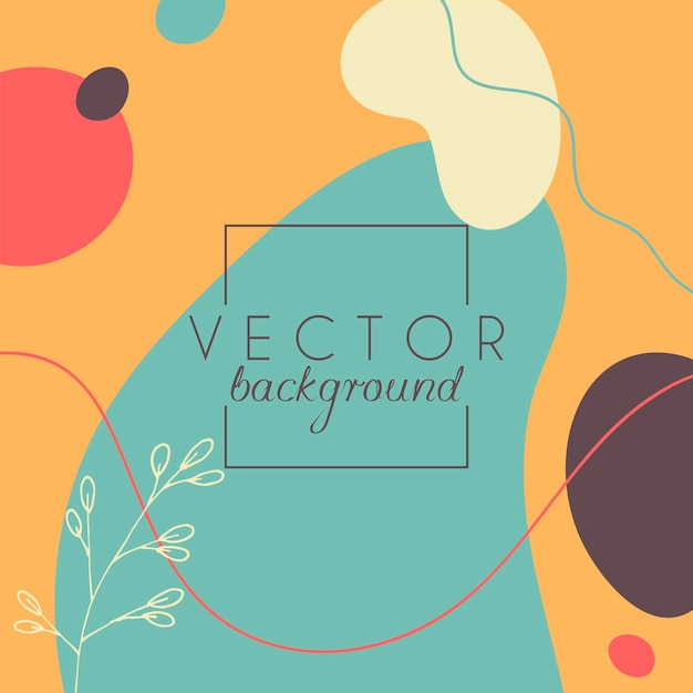 Sfondo astratto. modello di design moderno in stile minimal. elegante copertina per presentazione di bellezza, design del marchio. illustrazione vettoriale