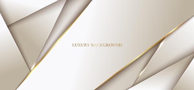Abstract background modern luxury template   golden geometric with line.