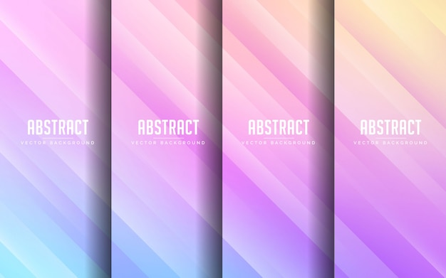 Abstract background modern rainbow color