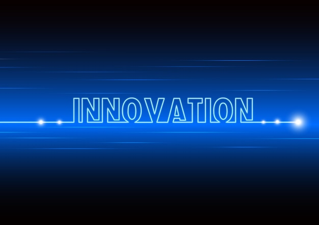 Abstract background of new technology and fast innovation