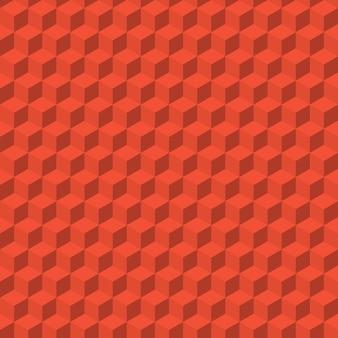 Абстрактный фон из цветных кубиков. бесшовный узор вектор
