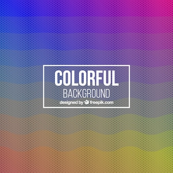 Abstract background of colors and halftones