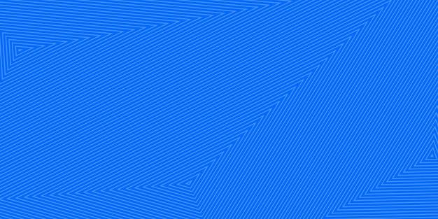 밝은 파란색 색상의 동심 삼각형의 추상적 인 배경