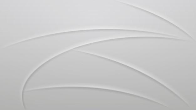회색 색상의 곡선의 추상적 인 배경