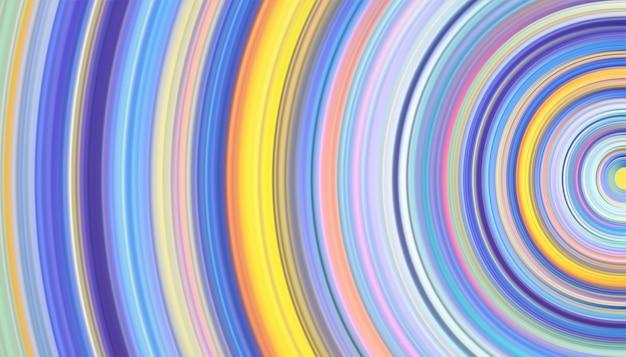 Абстрактный фон из светящихся линий