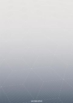 와이어 프레임 패턴 배경으로 기하학적 하프톤의 추상적인 배경. 벡터 일러스트 레이 션.