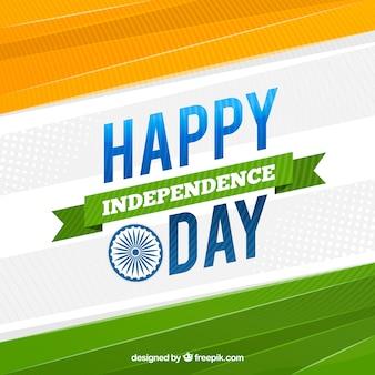 Абстрактный фон счастливый день независимости индии