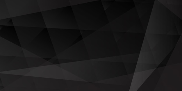 검은 색으로 교차하는 선과 다각형의 추상적 인 배경