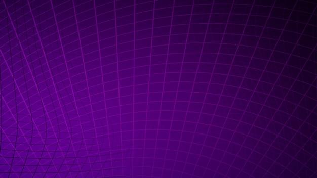 바이올렛 색상의 선과 사각형의 추상적 인 배경