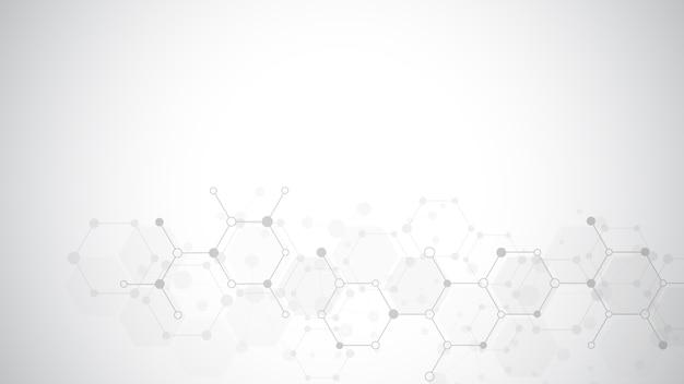 分子の抽象的な背景