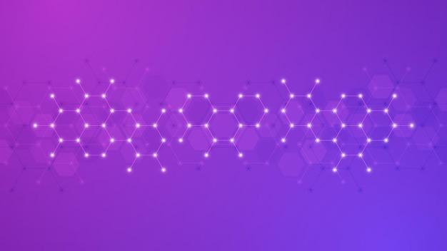 분자의 추상적 인 배경
