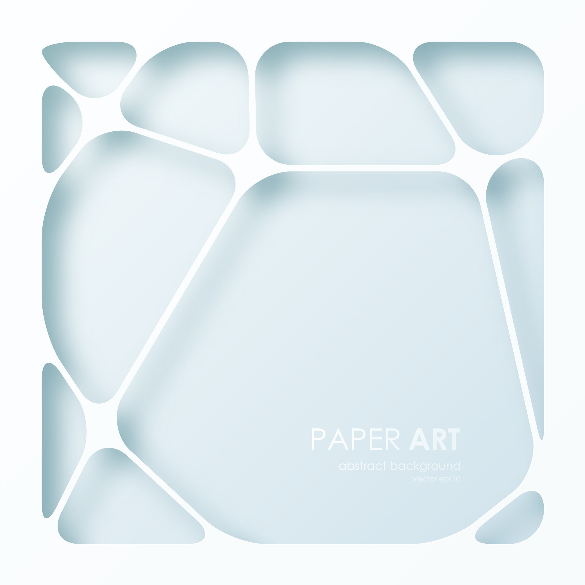Abstract background of paper web.