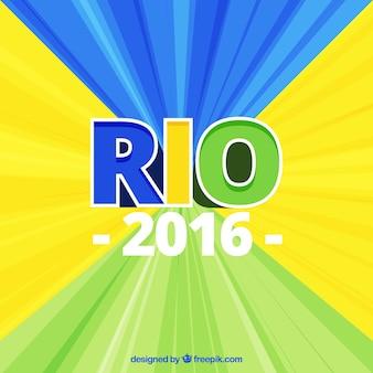 Абстрактный фон из рио 2016 года