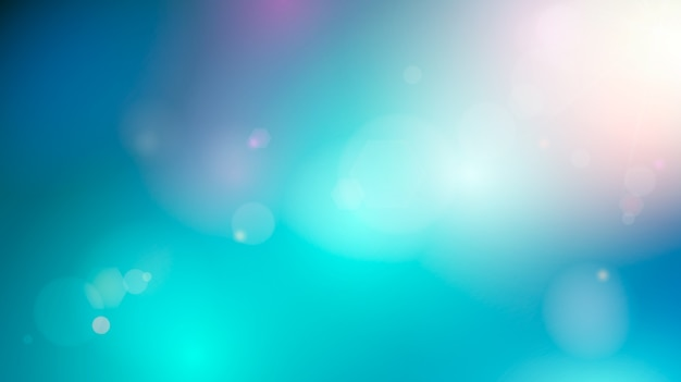空の抽象的な背景。ぼやけた柔らかいカラフルな背景。図